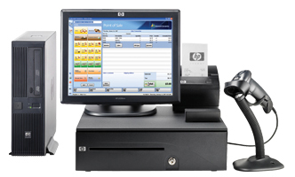 HP RP3000 POS Solution