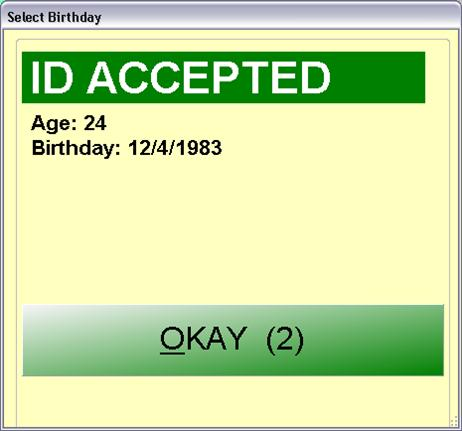ID Accepted