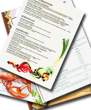 menus