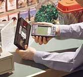 Palm Pilot ringing                                                                             up sale running pocket register