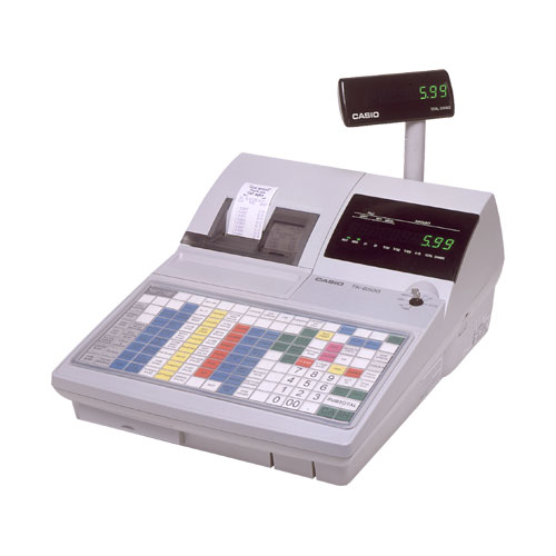 Casio TK-6500 Cash Register